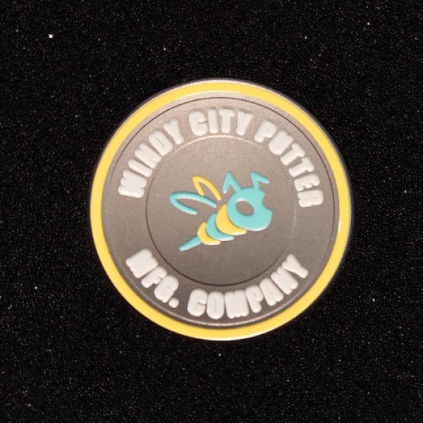 Bettinardi Tiffany and Yellow Stinger Bee - Ball Marker