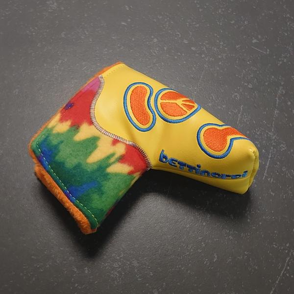 Bettinardi Kool-Aid Tie-Dye Yellow - Headcover blade 1