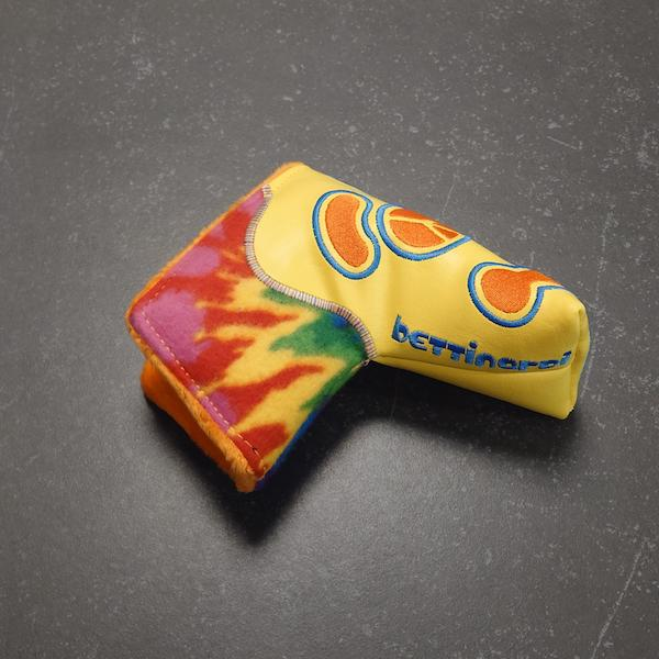 Bettinardi Kool-Aid Tie-Dye Yellow - Headcover blade 2