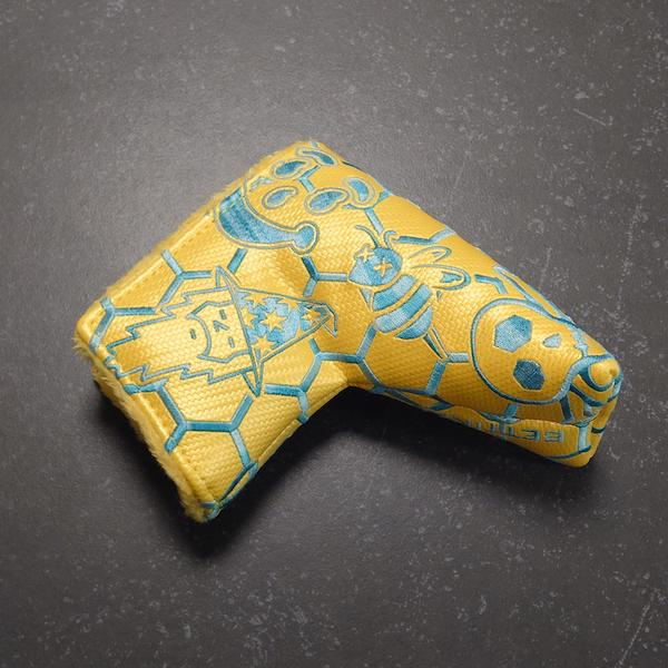 Bettinardi Tour Department Yellow Multi Icon - Headcover Blade