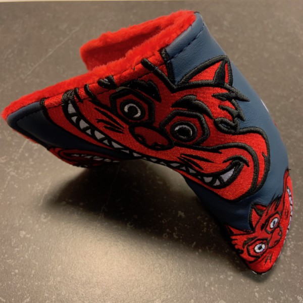 Bettinardi Fat Cat Tour edition Red/grey - Headcover Blade