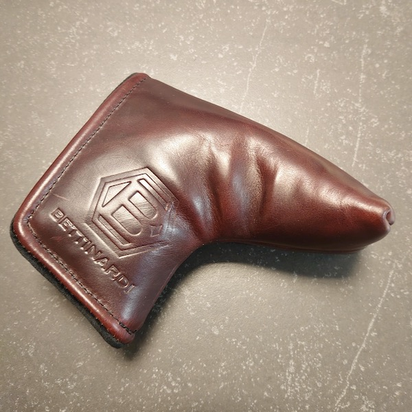 Bettinardi Horween Leather maroon - Headcover Blade