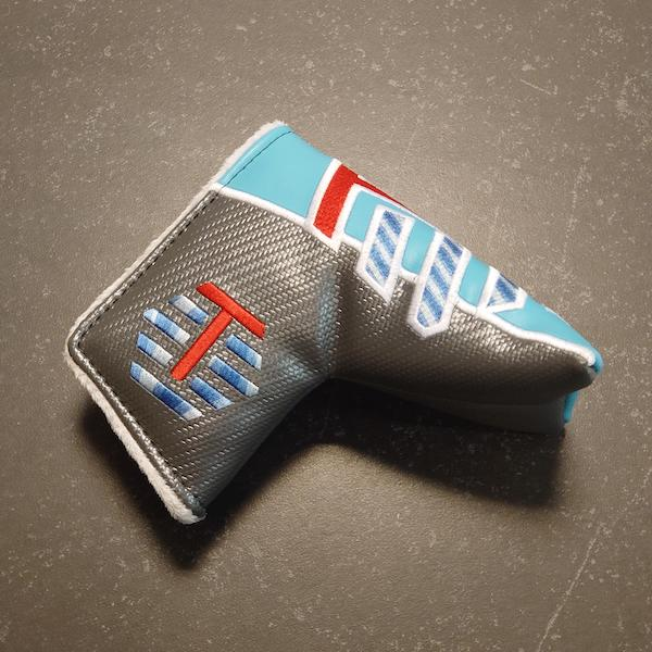 Bettinardi Jumbo Carbon T Tour Hive silver/blue - Headcover Blade