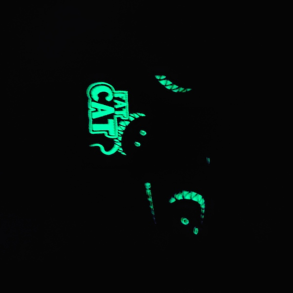 Bettinardi Fat Cat Black Carbon Fiber glow in the dark - headcover Blade