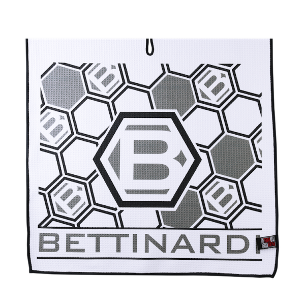 Bettinardi Players Golf towel - white/black